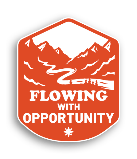 Flowing with Opportunity badge
